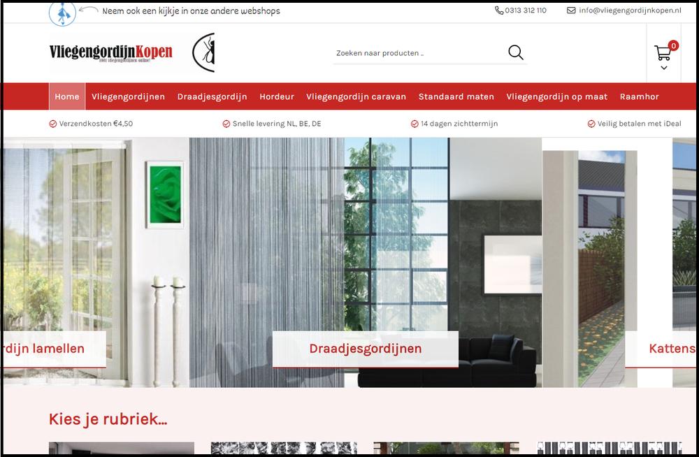 Uitgelezene Vliegengordijnkopen.nl, Webcompanies B.V. - Webcompanies DG-71